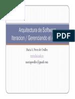 Desarrollo Iterativo - IV