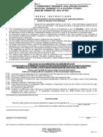 Checklist for PRV