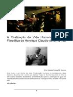 A Realização Da Vida Humana Na Ética