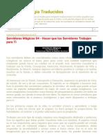 Textos de Magia Traducidos_ Servidores Mágicos 04 - Hacer Que Los Servidores Trabajen Para Ti