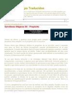 Textos de Magia Traducidos_ Servidores Mágicos 06 - Propósito