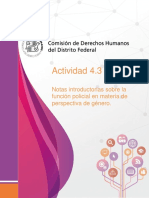 Notas Introductorias Sobre La Función Policial en Materia de Perspectiva de Género.