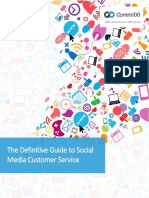 The Definitive Guide to Social Media Customer Service