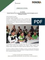 29-09-19 Atiende Protección Civil solicitud de Gobernadora y declara Emergencia para 21 Municipios en Sonora