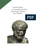 Heráclito - Metafísica I