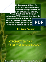 1. Intro & History of Microbiology