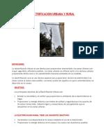 Electrificacion Urbana y Rural Pt1