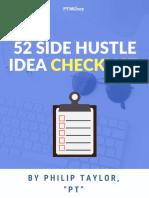 52 Side Hustle Ideas