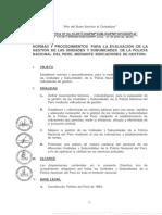 DIRECTIVA INDICADORES PNP 2017
