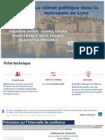 Sondage Ipsos Lyon