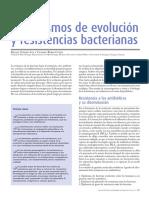 Mecanismos de Evolución y Resistencia Bacterianas