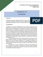 Lab Guía 9. Fotosíntesis