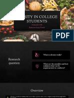 Research Essay Presentation