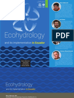 Ecohydrology and Its Implementation in Ecuador (2019)