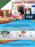Medicamentos Esteriles y No Esteriles