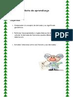 Reglas de Derivada2