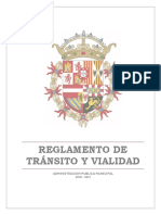 Reglamento Transito 17Sep19