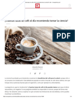 ¿Cuántas Tazas de Café Al Día Recomienda Tomar La Ciencia_ _ Life - ComputerHoy.com