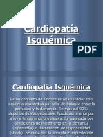 Cardiopatía Isquémica Resúmen