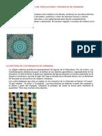 La Historia de Las Teselaciones y Mosaicos de Alhambra