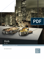 Siemens EH651FDC1E Induction Cooktop User Manual