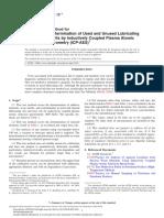 Metales por ICP - D 5185-13