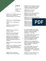 LISTA DE NORMAS ASME EN ESPAÑOL.docx
