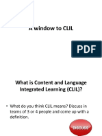 A window to CLIL