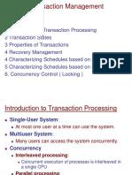 DBMS - Transactions Management