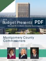 2019 Budget Presentation