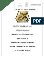 Reportes de Unidades II, III, IV y V de GP.docx