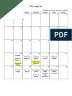 dive practice schedule