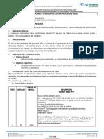 Especificaciones Tecnicas Coer - Pcs