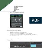 Mixcraft Drum Pattern Assignment