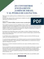 CÓMO CONVERTIRSE GENUINAMENTE AL ELOHÍM DE ISRAEL Y AL PUEBLO DE LOS PACTOS?.pdf