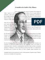 Biografía Andrés Eloy Blanco