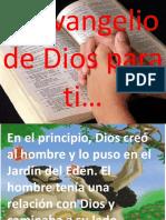 El Plan de Dios Para Tu Salvación