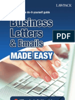 Business Lettre