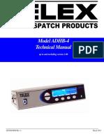 ADHB4 Manual ADHB 4 Manual