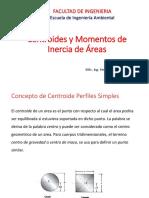 Centroides y Momentos de Inercia de Areas