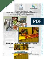 Manual de Buenas Prácticas de Manipulación Dirigido a todos los mercados de la ciudad de Puno