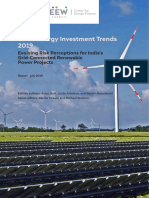 CEEW Clean Energy Investment Trends 2019