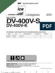 DV 400V K Service Manual
