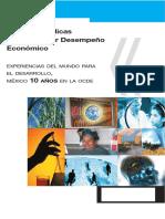 OCDE Politicas Publicas Desempeño Economico