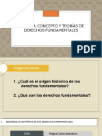 DERECHOS CONSTITUCIONAL