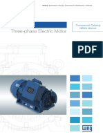WEG w50 Three Phase Electric Motor Commercial Catalogue 50048955 Brochure English Web