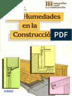 Bricolaje - Albañileria - Libro - Las Humedades en La Construccion (CEAC)