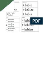 Pronombres y Verbo Ar