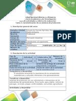 Introducion Agronomia - Tarea 4 - Caracterización de Un Sistema de Producción