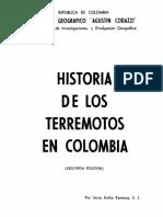 1975 Ramirez HistoriaTerremotosColombia